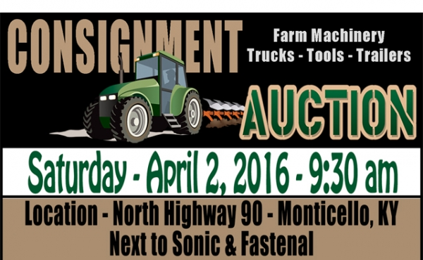 Farm Machinery Consignment